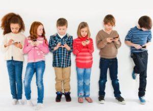 Залежність дітей від електронних пристроїв